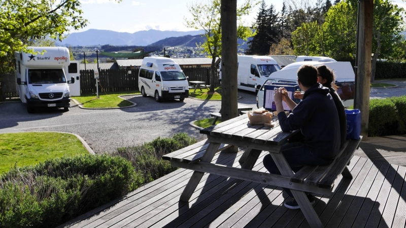 Wanaka Kiwi Holiday Park and Motels (formerly Aspiring)