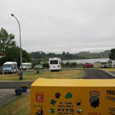 Lake Hakanoa (Huntly) Motor Caravan Park