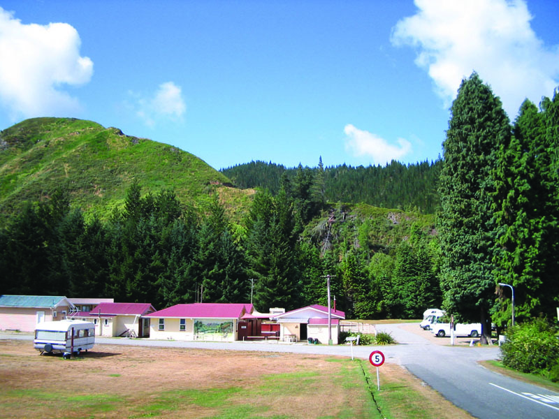 Reefton Domain Camp
