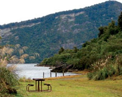 Rosie's Bay – Lake Waikaremoana