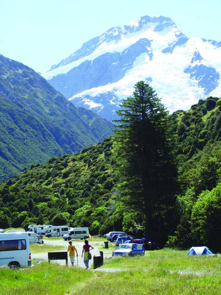 White Horse Hill Camping Area Mt Cook National Park